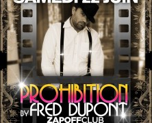PROHIBITION by Fred DUPONT