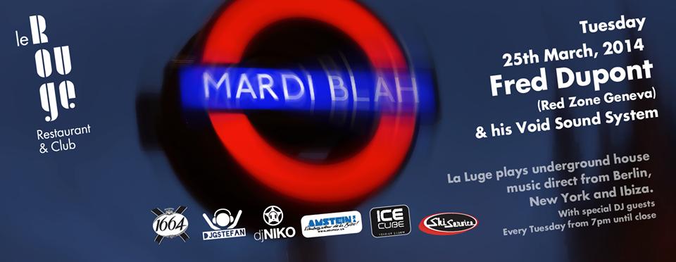 Le Rouge, Verbier mars 2013