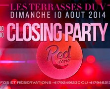 Closing Party @ Terrasses du V, Geneva