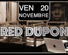 Fred DUPONT @ Zapoff Club, 20 Nov 2015